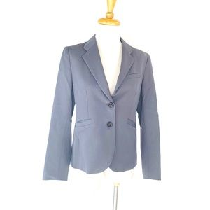 J. Crew 100 Wool Blazer 2 Button Made In Japan 6P